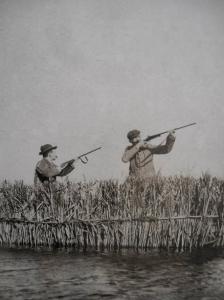 Antiguamente se permitía cazar en toda la albufera