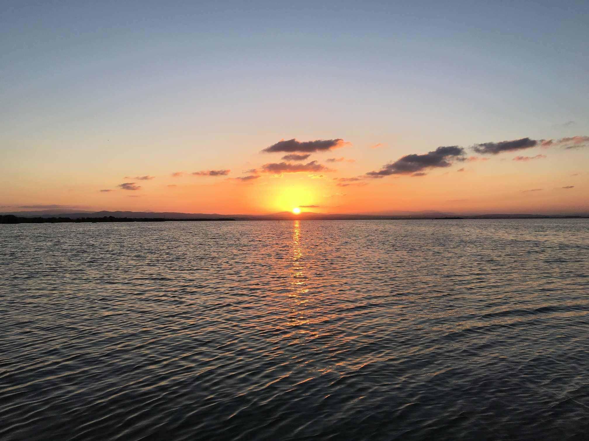 puesta de sol albufera